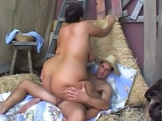 Ass  Farm Interracial  Riding   Farm