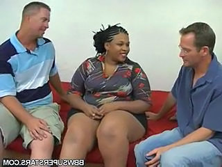 Ebony Interracial  Threesome  Interracial Threesome   Threesome Interracial