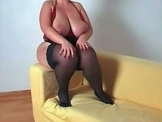 Big Tits  Natural Stockings     Big Tits Stockings Plumper Stockings