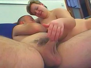 Handjob Mature   Tits Job Handjob Mature