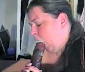 Homemade amateur big cock blowjob