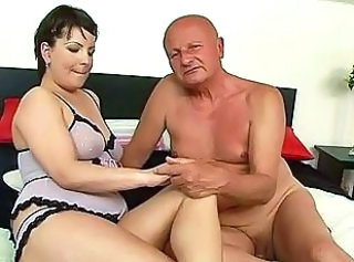 Chubby Lingerie Old and Young Grandpa Old And Young Lingerie