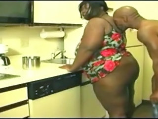 Amateur Ass  Ebony Kitchen Wife Ebony Ass   Wife Ass Amateur