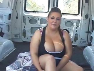 Big Tits Car  Natural     Car Tits