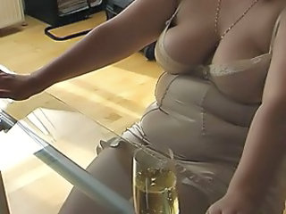 Chubby Lingerie Wife Chubby Ass Cumshot Ass Footjob Foot Lingerie Wife Ass