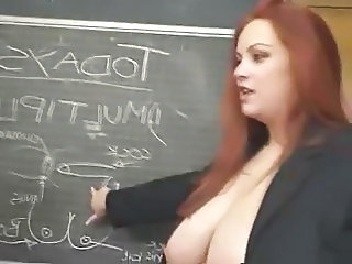 Big Tits Lesbian  Natural Redhead School Teacher      Big Tits Redhead Big Tits Teacher  School Teacher