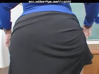 Ass  School Teacher Fat Ass School Teacher