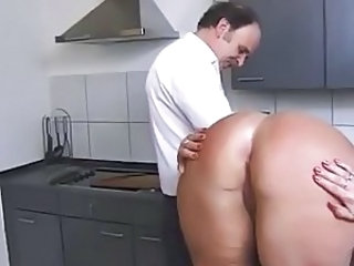 Ass  Kitchen  Older Wife   Kinky   Wife Ass