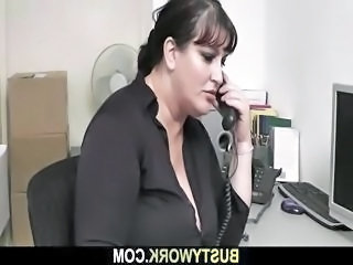 Chubby  Office Secretary Interview Chubby Babe Busty Babe  Office Babe   Office Busty