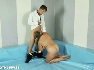 Blowjob Mom Old and Young Sport   Old And Young Wrestling
