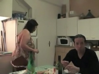 Amateur  Drunk Kitchen Wife   Amateur