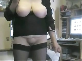 Amateur  Big Tits Homemade Natural  Stockings Wife