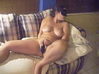 Amateur Big Tits Chubby Dildo Homemade Masturbating  Natural  Toy Wife