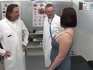 Chubby Doctor  Threesome