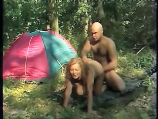 Mature Mom Old and Young Outdoor Outdoor