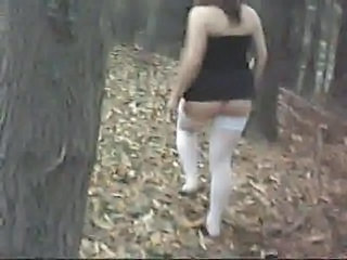 Amateur Ass Chubby European Italian Outdoor Stockings Wife