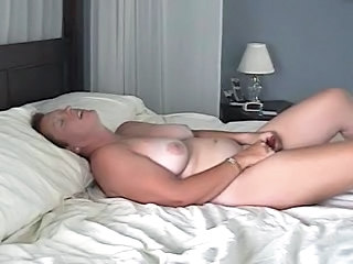 Amateur Chubby Homemade Masturbating  Mom Orgasm Solo Toy