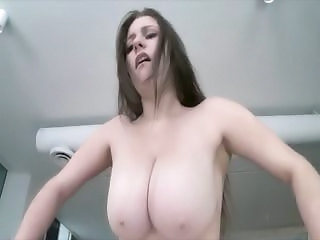 Babe Big Tits Chubby Natural Riding Huge