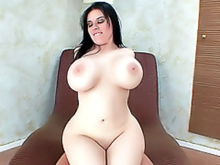 Big Tits Chubby  Pornstar Shaved Silicone Tits