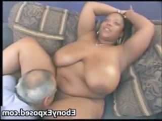 Big Tits Daddy Ebony Interracial Licking  Natural  Boobs Amateur