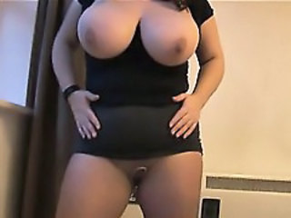 Amateur  Big Tits Mom Natural Pantyhose  Boobs Pantyhose