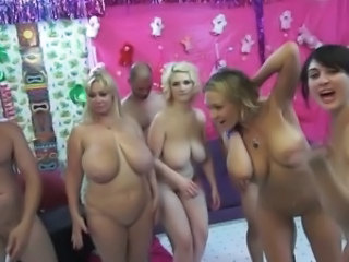 Big Tits Groupsex  Natural Orgy Party  Orgy