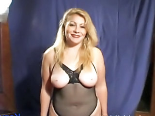 Chubby European French Lingerie  Natural French
