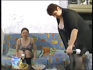 Drunk Lesbian Mature Mom Old and Young Prostitute