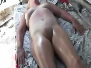 Amateur Chubby Massage Mature Oiled