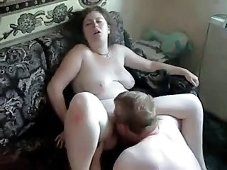 Amateur Chubby Homemade Licking Russian  Wife
