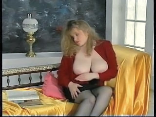 Big Tits  Natural  Stockings Stripper Vintage