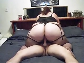 Amateur Ass  Homemade  Riding Stockings Plumper