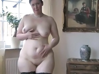 Chubby Mature Mom  Shaved
