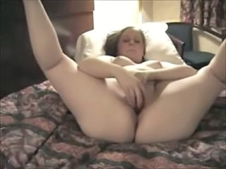 Amateur  Girlfriend Homemade Masturbating Hotel