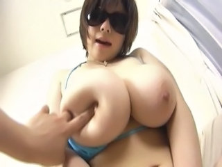 Asian Big Tits Chubby  Natural Nipples Bikini Giant