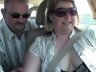 Amateur Car Chubby European German Wife Perverted