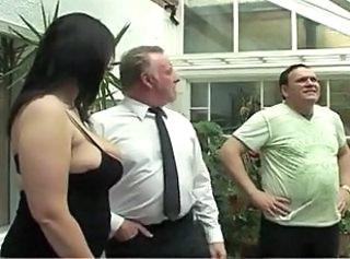 Big Tits British Chubby European  Natural Threesome Wife Boobs British