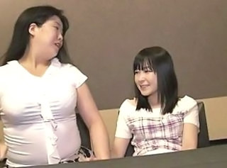 Asian Chubby Japanese Lesbian Mature Old and Young Teen