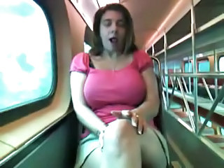 Amateur  Big Tits Masturbating  Public