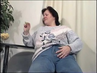 Jeans Mature Mom Chunky