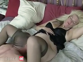Blonde Licking  Amateur