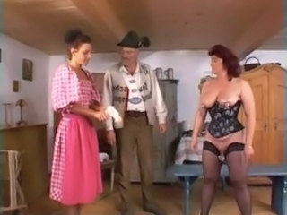 Chubby Corset Daddy Family Mature Old and Young Vintage