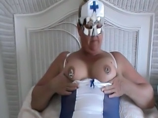 Chubby Fetish  Nipples Nurse Piercing