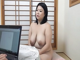 Asian Big Tits Chubby  Mom Natural  Boobs
