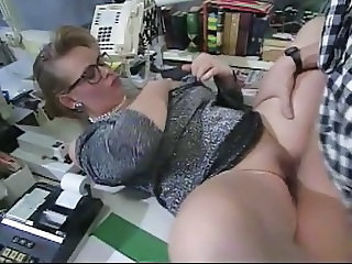 Chubby Clothed Glasses  Office Secretary