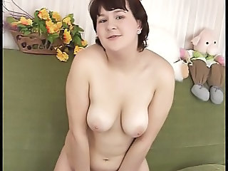 Chubby Masturbating Natural  Solo Teen