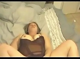 Amateur Chubby Homemade Lingerie Mom Orgasm Mother