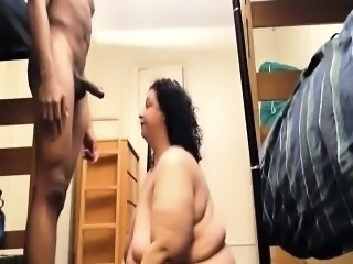 Amateur  Homemade Interracial Old and Young  Wife
